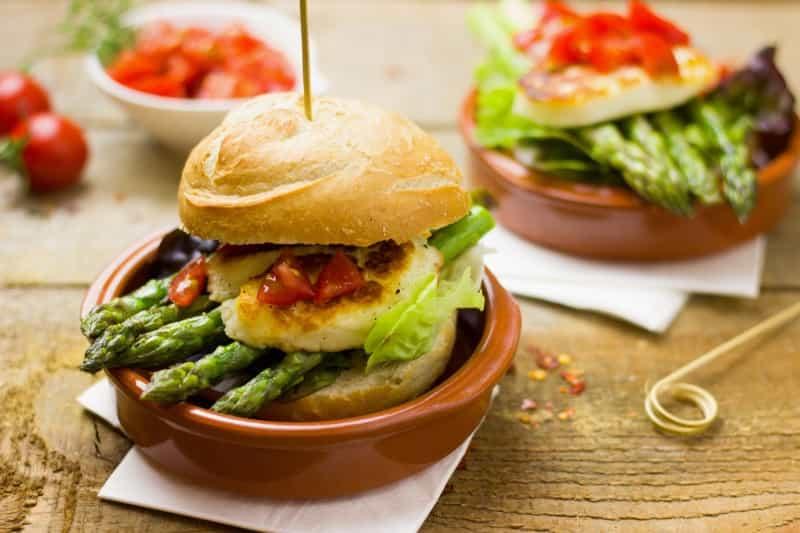 Asparagus Burger